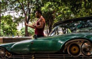 Wifi in Havana, Cuba